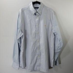 Southern Marsh Checked Button Down Shirt Size L